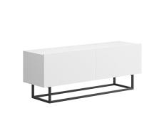RTV stolek bez podstavy, bílá, SPRING ERTV120