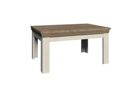 Jídelní rozkládací stůl, sosna skandinávská / dub divoký, ROYAL ST