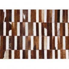 Luxusní koberec, pravá kůže, 201x300, KŮŽE TYP 5
