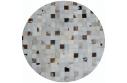 Luxusní koberec, pravá kůže, 200x200, KŮŽE TYP 10