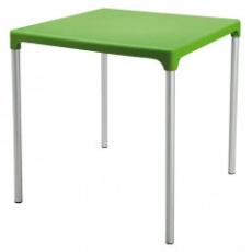 BOULEVARD stůl polypropylen zelený