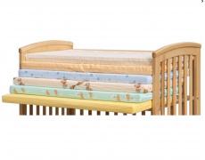 Matrace dětská molitanová, různé barvy 120 x 60 x 6 cm