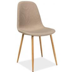 Jídelní židle FOX DUB BÉŽOVÁ