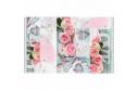 Koberec, vzor růže, 80x150, SONIL TYP 2