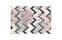Koberec, vícebarevný, vzor listy, 57x90, SELIM