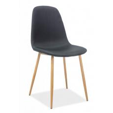 Jídelní židle FOX DUB ČERNÁ