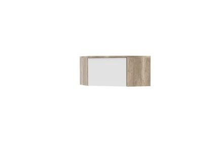 Rohový nástavec, dub canyon / bílá, MARIANA MX 33
