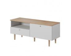 RTV stolek, bílá / buk pískový, Lavele LRTV150