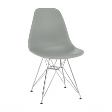 Židle, šedá, ANISA 2 NEW