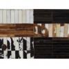 Luxusní koberec, pravá kůže, 171x240 cm, KŮŽE TYP 4