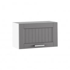 Horní skříňka, tmavě šedá/bílá, JULIA TYP 9