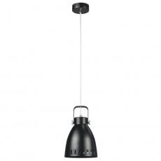 Visící lampa, černá / kov, AIDEN typ3