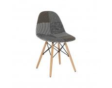 Designová stolička, látka patchwork, PEPITO TYP 9