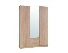 3-dveřová skříň, dub sonoma, MEXIM