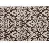 Koberec, béžová / tmavě hnědá, 133x190, LORENS
