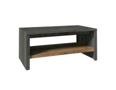 Konferenční stolek ST, dub lefkas tmavý/smooth šedý, MONTANA
