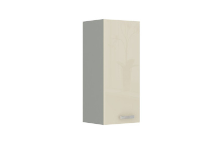 Skříňka horní, krém vysoký lesk, PRADO 30 G-72