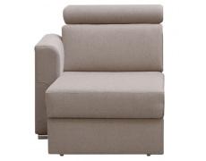 1-sed 1 1B L na objednávku k luxusní sedací soupravě, béžová, levý, MARIETA