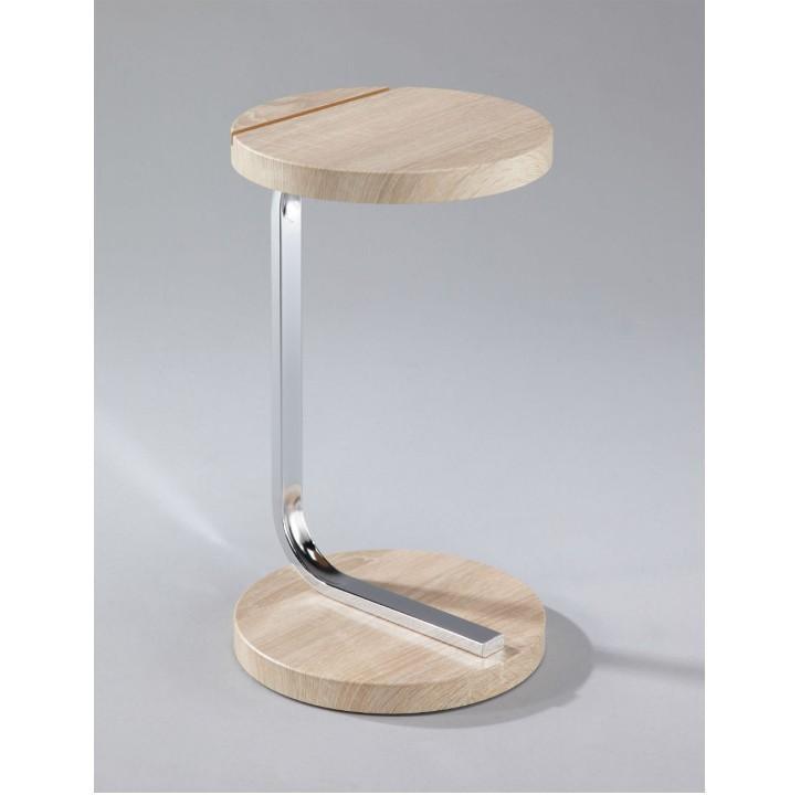 Příruční stolek na tablet, dub sonoma, MILANA