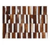 Luxusní koberec, pravá kůže, 69x140 cm, KŮŽE TYP 5