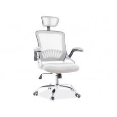 Kancelářská židle Q 831 ŠEDÁ