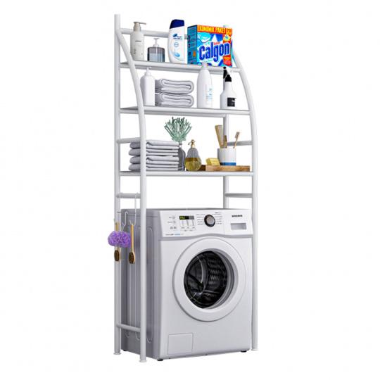 Regál nad pračku, bílá, VIMERA
