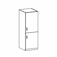 Potravinová skříňka, bílá/sosna andersen, pravá, Provance D60R