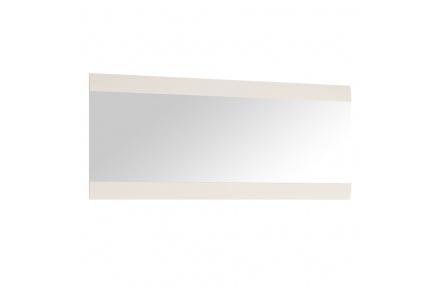 Zrcadlo velké, bílá extra vysoký lesk HG, LYNATET TYP 121