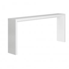 Konzolový stolek, bílá, FITRON