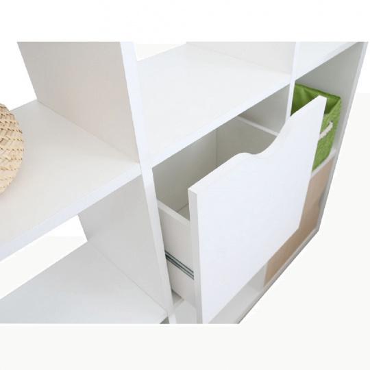Regál, bílá, Tofi BOX NEW | Tempo Kondela