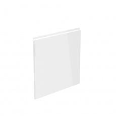 Dvířka na myčku, bílá extra vysoký lesk HG, 44,6x57, AURORA
