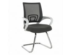 Zasedací židle šedá/bílá, Sanaz TYP 3