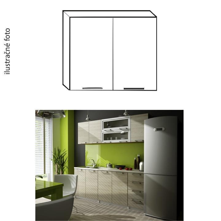 Kuchyňská skříňka, dub sonoma, IRYS G-80