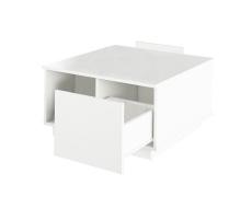 Konferenční stolek, bílá, DALAN