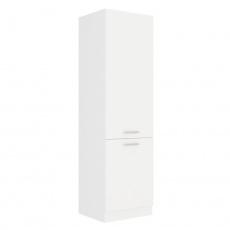 Vysoká skříňka, bílá, SPLIT 60 DK-210 2F