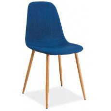 Jídelní židle FOX DUB MODRÁ