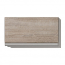 Skříňka horní G 60, dub sonoma/bílá, LINE