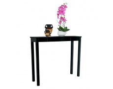 Konzolový stolek, černá, AMYNTAS