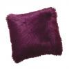 Polštář, fialová, 45x45, EBONA TYP 8