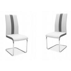 Jídelní židle H200 světle šedá