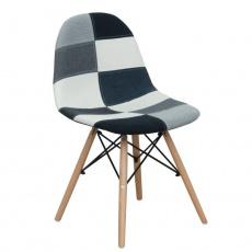 Jídelní židle, látka / vzor CANDIE 2 NEW TYP 3 E-53