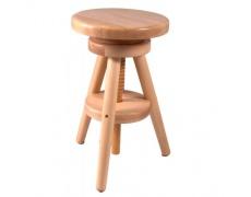 ST B 52 70/30 vytáčecí stolička masiv buk