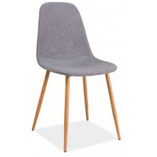 Jídelní židle FOX DUB ŠEDÁ