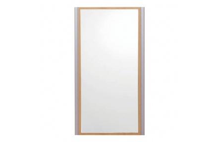 Zrcadlo, buk/stříbrné, LISSI TYP 05