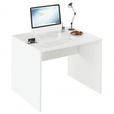 Psací stůl, bílá, RIOMA TYP 12