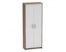 Kancelářská skříň, švestka/bílá, JOHAN 2 NEW 05 JH055