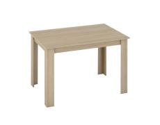 Jídelní stůl, dub sonoma, 120x80, KRAZ